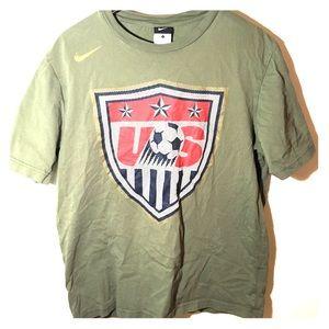 USA soccer Nike Tee
